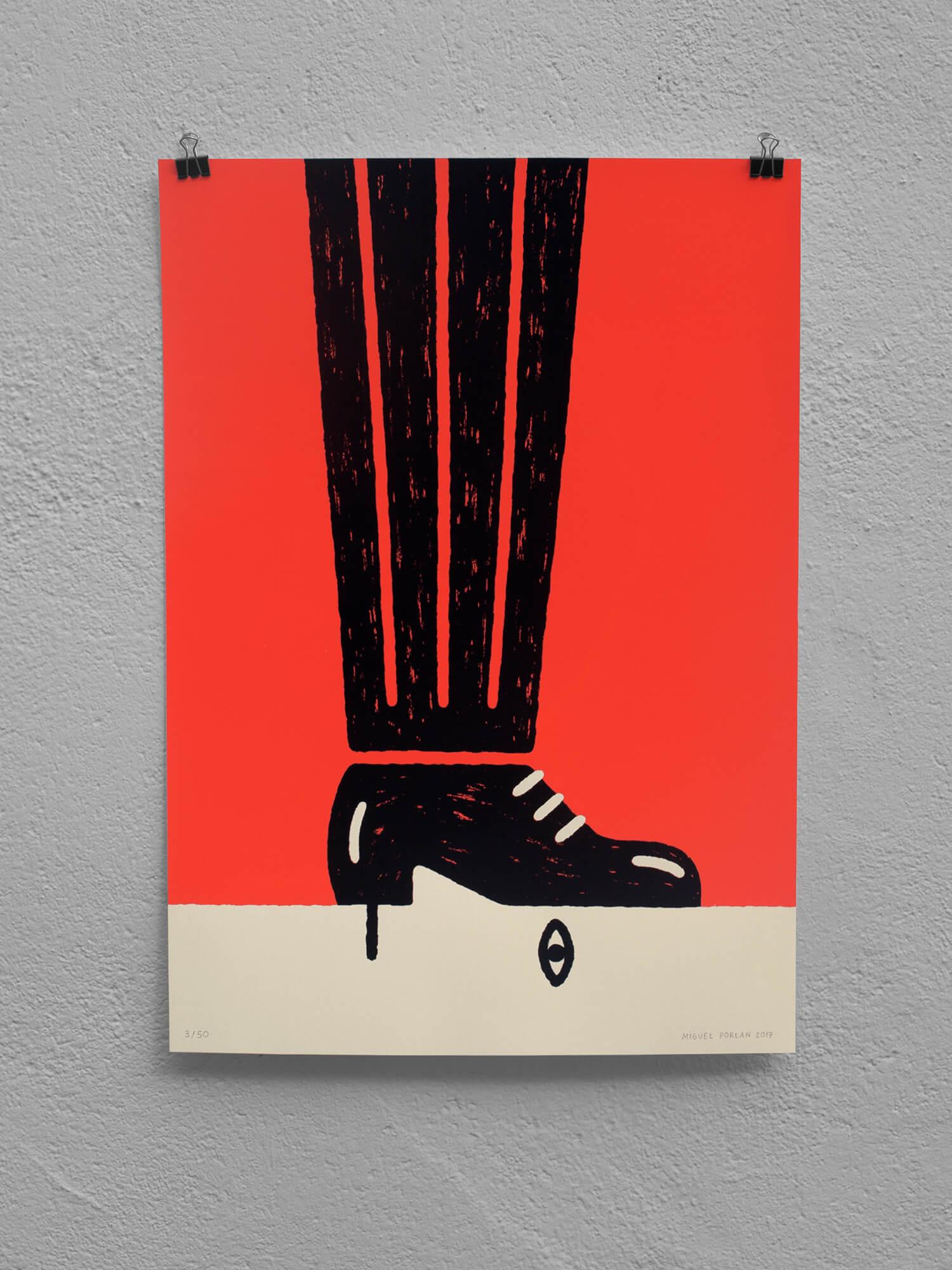 miguel porlan, illustration, poster, tailor-made, poster design