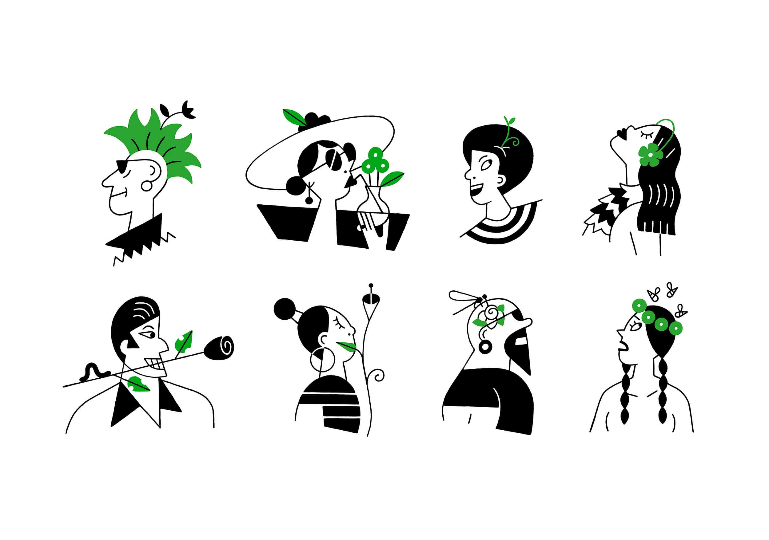 miguel porlan, illustration, spots, the new yorker