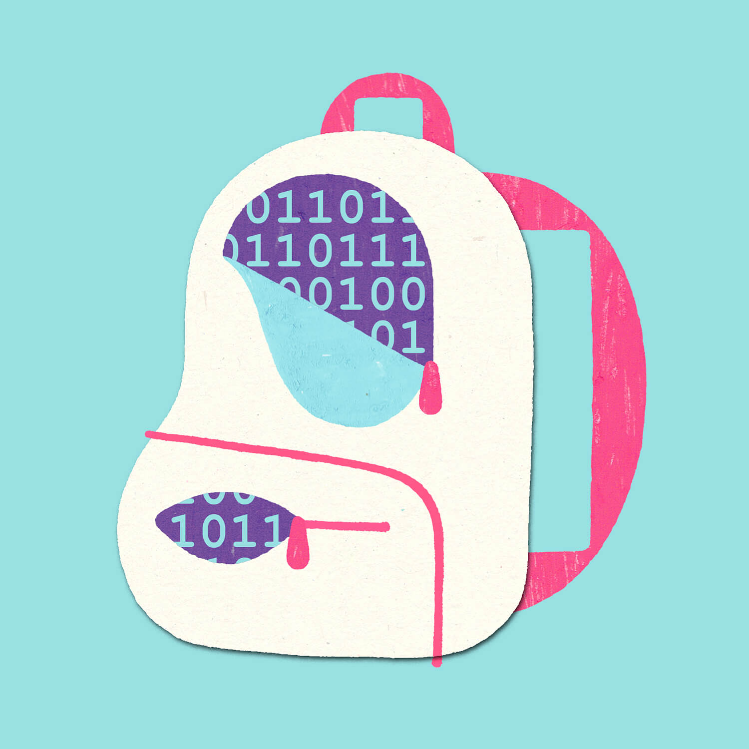 miguel porlan, illustration, student privacy, privacy, school library