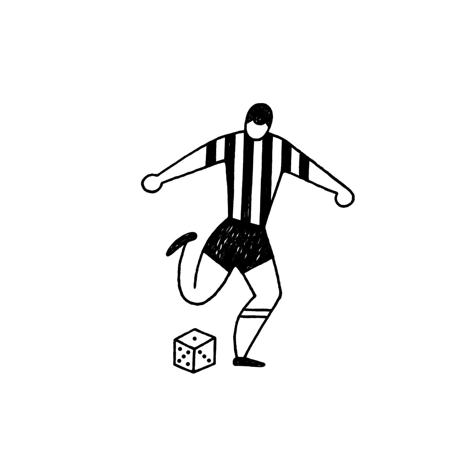miguel porlan, illustration, the new yorker, spots, soccer, football