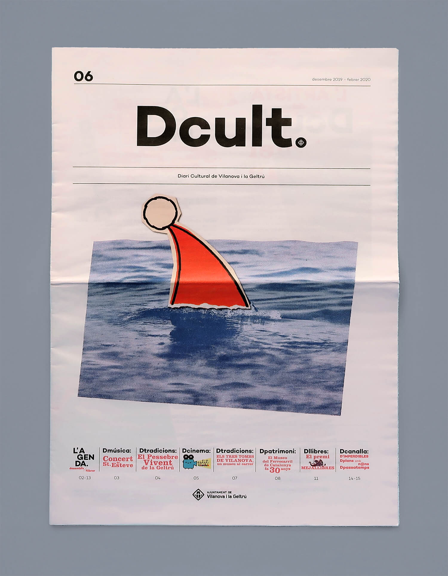 miguel porlan, illustration, cover, dcult, chirstmas