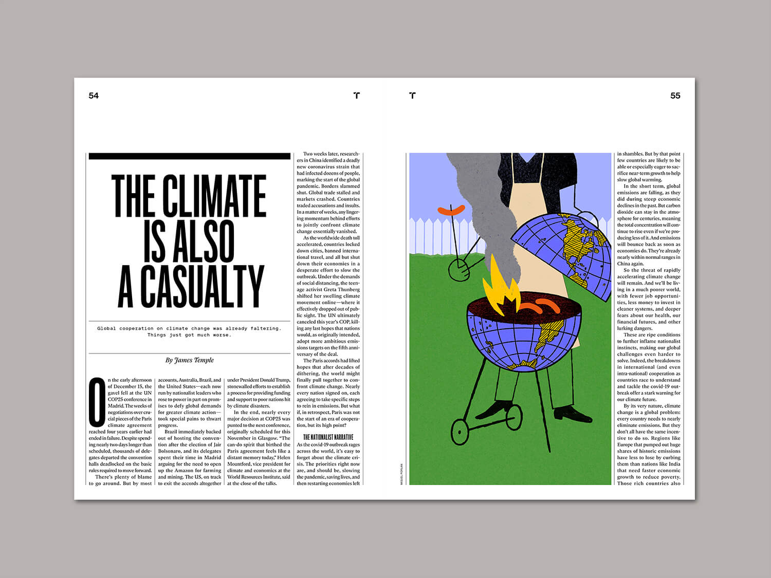 miguel porlan, illustration, mit technology review, climate, climate crisis