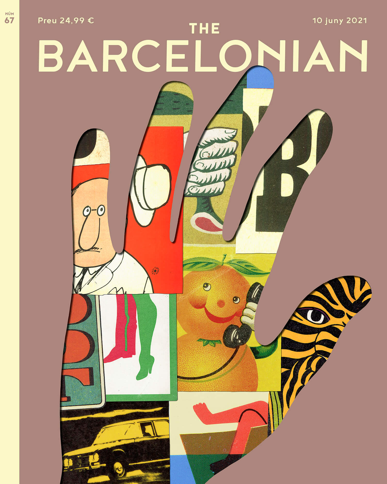 Cover for The Barcelonian